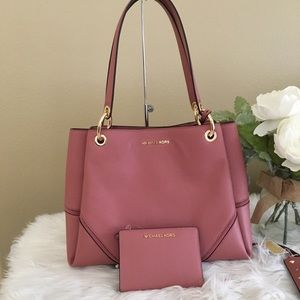 Michael Kors  Nicole shoulder tote bag & wallet
